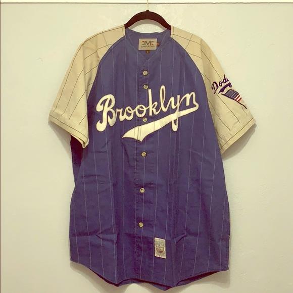 vintage brooklyn dodgers jersey- OFF 69